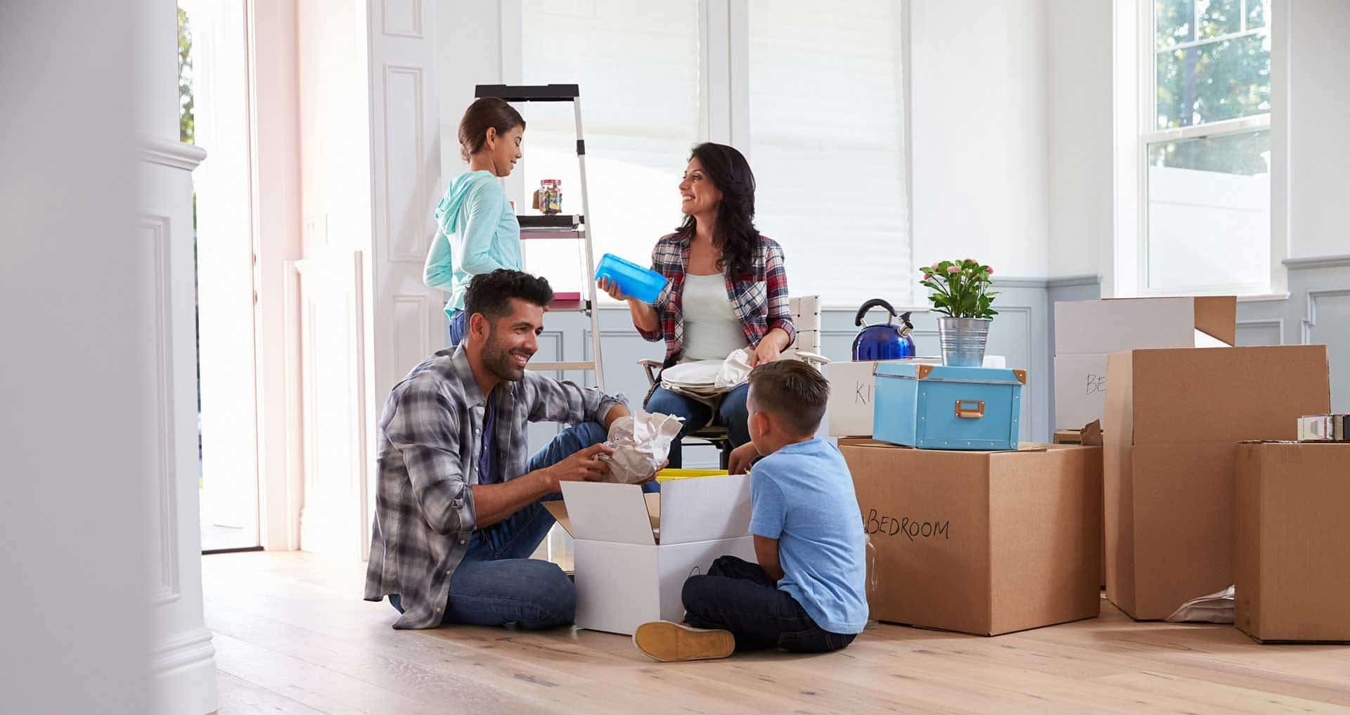 How to Get Unpacked in Less Than Two Weeks
